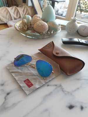 Ray Ban Gafas de piloto azul claro-azul