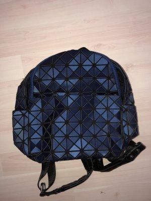 Laptop rugzak zwart-blauw