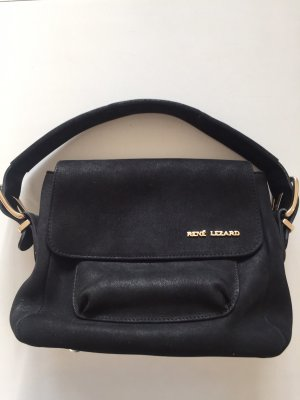 Kleine schwarze Tasche von René Lezard