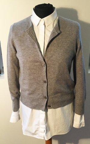 0039 Italy Cardigan tricotés argenté cachemire