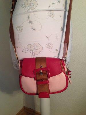 kleine süße Umhängetasche von Esprit, pink/rosa