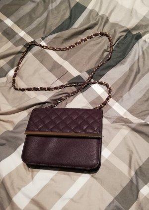Mini sac brun pourpre