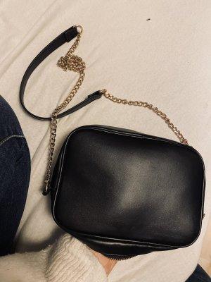 H&M Clutch zwart-goud