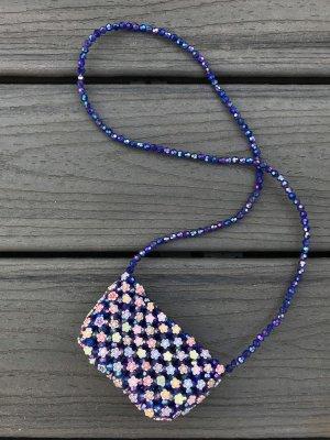 Mini sac bleu-bleu foncé