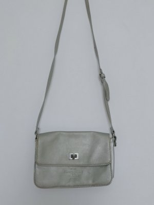 Abercrombie & Fitch Crossbody bag silver-colored
