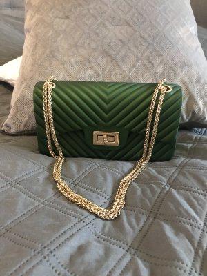Kleine Tasche dunkelgrün