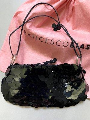 Francesco Biasia Clutch zwart Gemengd weefsel
