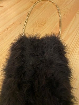 Zara Mini Bag black-gold-colored