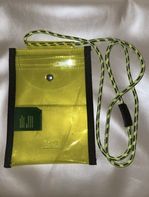 Urban Outfitters Borsellino verde prato-giallo neon