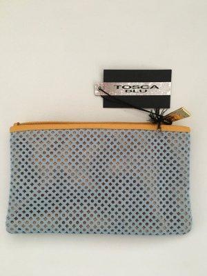 Kleine Tasche, Portemonnaie aus Leder von Tosca Blu.