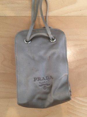 Prada Milano Mini Bag silver-colored
