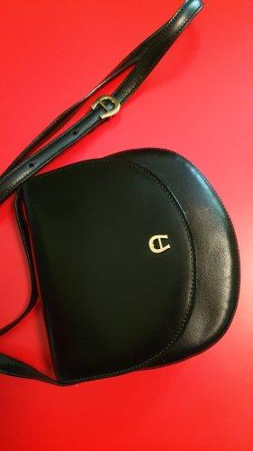 Aigner Mini Bag black-gold-colored