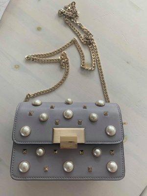 Topshop Crossbody bag light grey-silver-colored