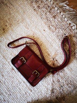 Bijou Brigitte Borsetta mini bronzo-rosso scuro