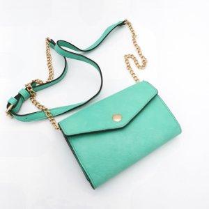 Street Level Mini sac turquoise-brun sable
