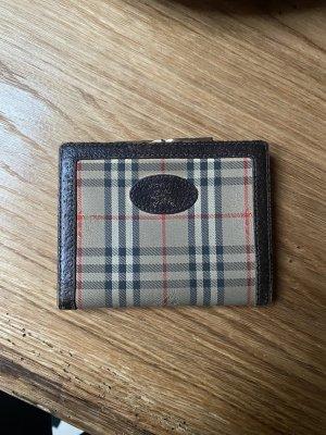 Kleiner Burberry Geldbörse Geldbeutel Portmonee Vintage