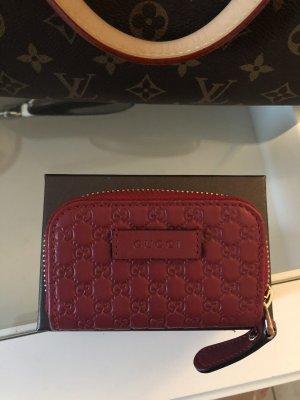 Gucci Portefeuille rouge carmin