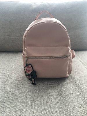 Kleiner rosa Rucksack