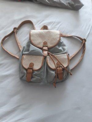 Trekking Backpack beige-azure