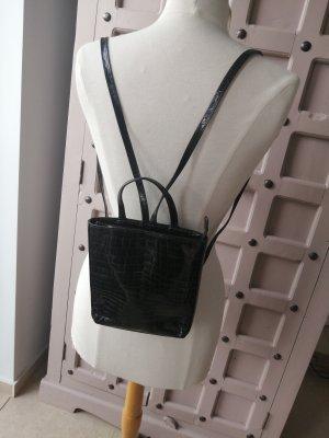 Kleiner Rucksack Assima Lackleder Mini Rucksack