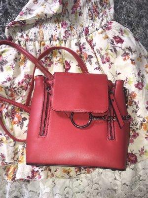 Kleiner Rucksack in rot, sehr guter Zustand, Even & Odd
