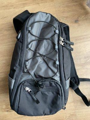 Mini sac à dos noir-gris