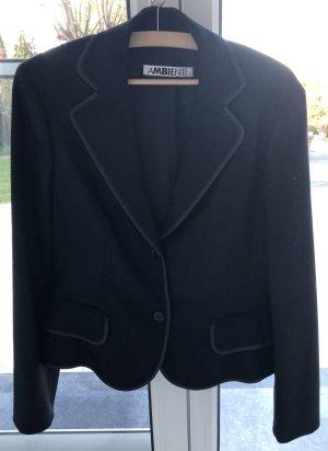 Ambiente Wool Blazer black wool