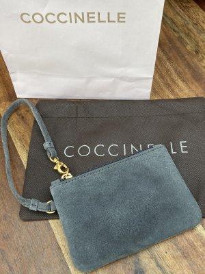 Coccinelle Mini sac gris-gris foncé cuir