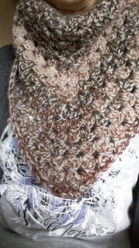 keine Marke Neckerchief multicolored wool
