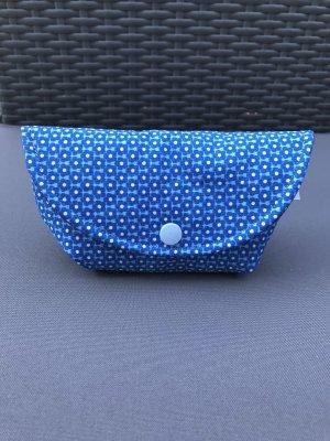 handmade Torebka mini fioletowy-niebieski