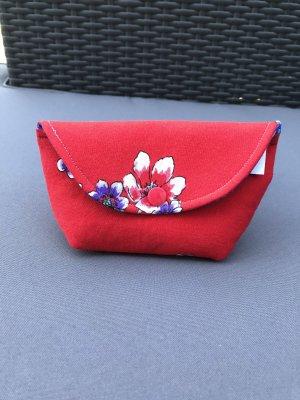 handmade Torebka mini czerwony-niebieski