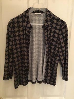 Blouse Jacket black-grey brown