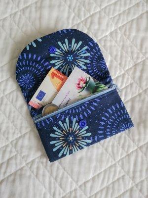 Kleines Portemonnaies mit Pflanzen aus Baumwolle