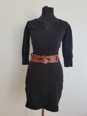 Mango Sweater Dress black