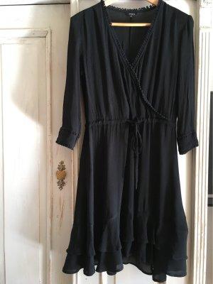 mbyM Sukienka z falbanami czarny