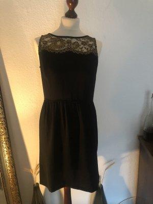 Ann Taylor LOFT Midi-jurk zwart-goud