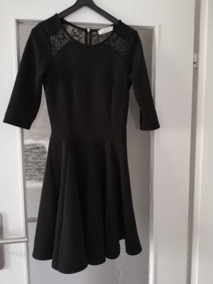 Closet Midi Dress black-gold-colored