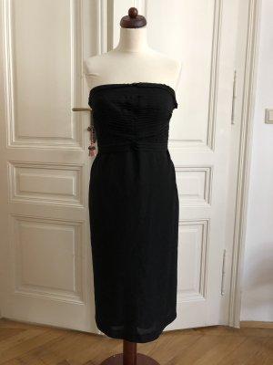 Alberta Ferretti Vestido de cóctel negro Lana
