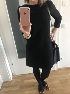 Oui Set Vestido ceñido de tubo negro Poliéster