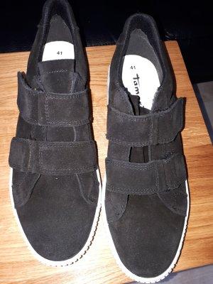 Tamaris Zapatillas con hook-and-loop fastener blanco-negro