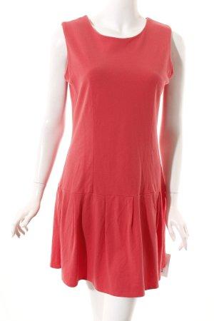 Kling A-Linien Kleid rot-lachs Casual-Look