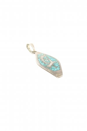 Kling Charm silver-colored-turquoise elegant