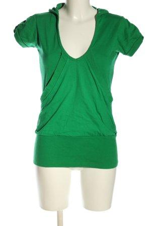 Kling Top à capuche vert style décontracté