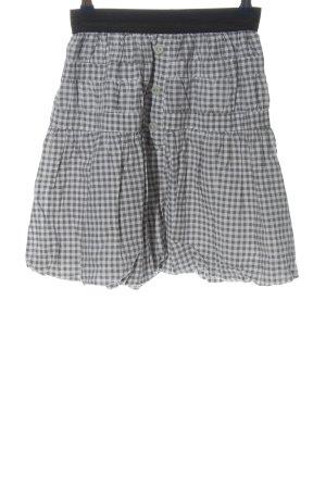 Kling Miniskirt light grey check pattern casual look