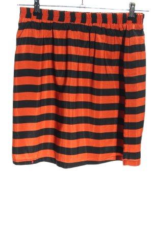 Kling Miniskirt red-black striped pattern casual look