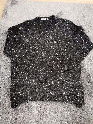 Canda Maglione di lana bianco-nero
