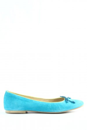 KMB faltbare Ballerinas blau Casual-Look
