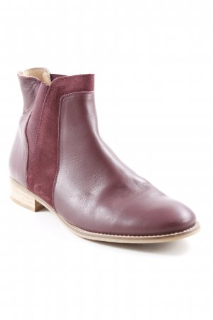 KMB Chelsea Boots bordeauxrot Elegant