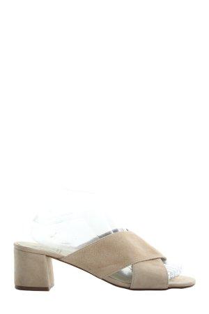 KMB High Heel Sandaletten creme Casual-Look