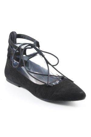 KMB Schnürschuhe schwarz Elegant